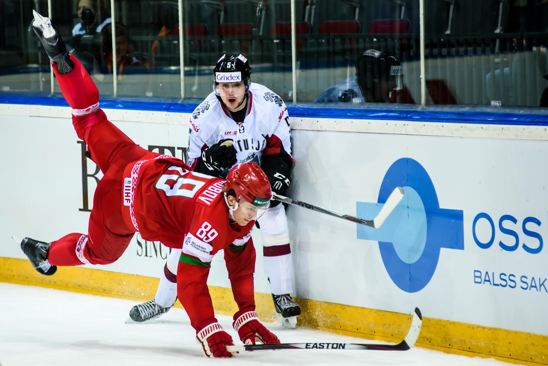 15.04.2016. Euro Hockey Challange spēle hokejā starp Latvijas un Baltkrievijas valstsvienībām. Arēna Rīga.