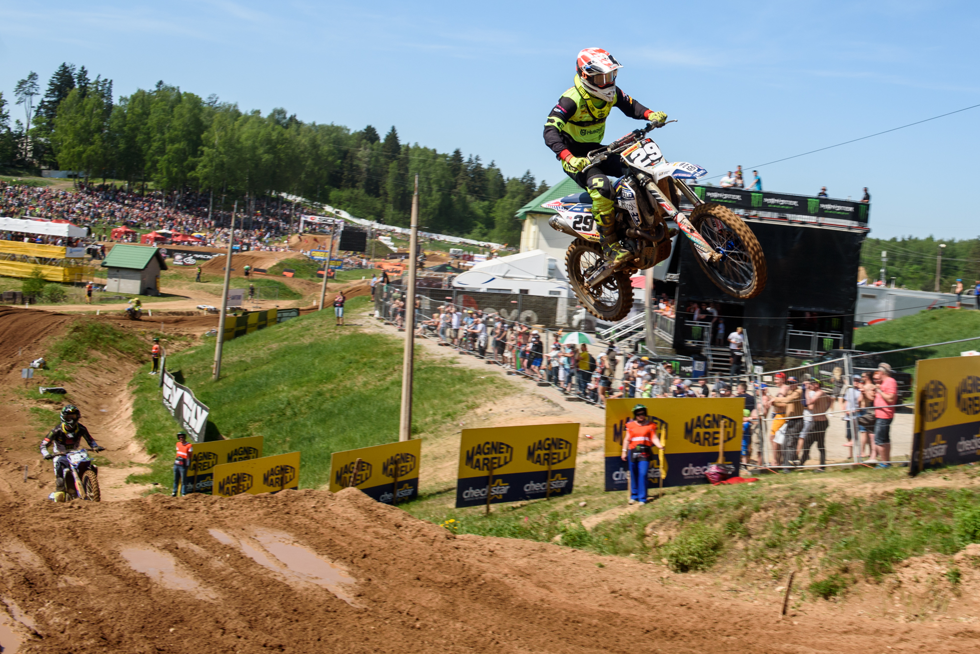 13.05.2018. KEGUMS, LATVIA. FIM MXGP Motocross World Championship Grand Prix of Latvia.