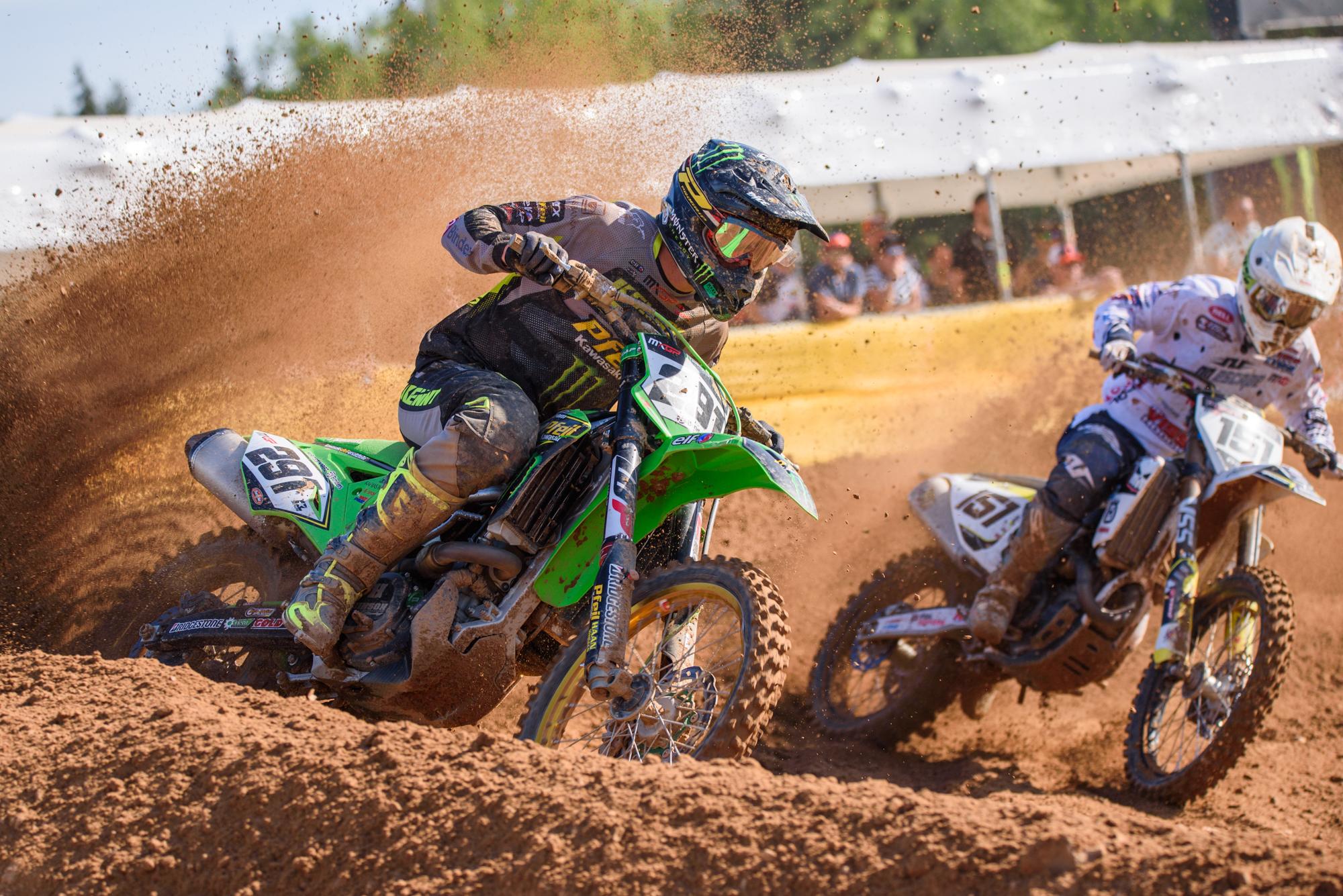 13.05.2018. KEGUMS, LATVIA. FIM MXGP Motocross World Championship Grand Prix of Latvia.