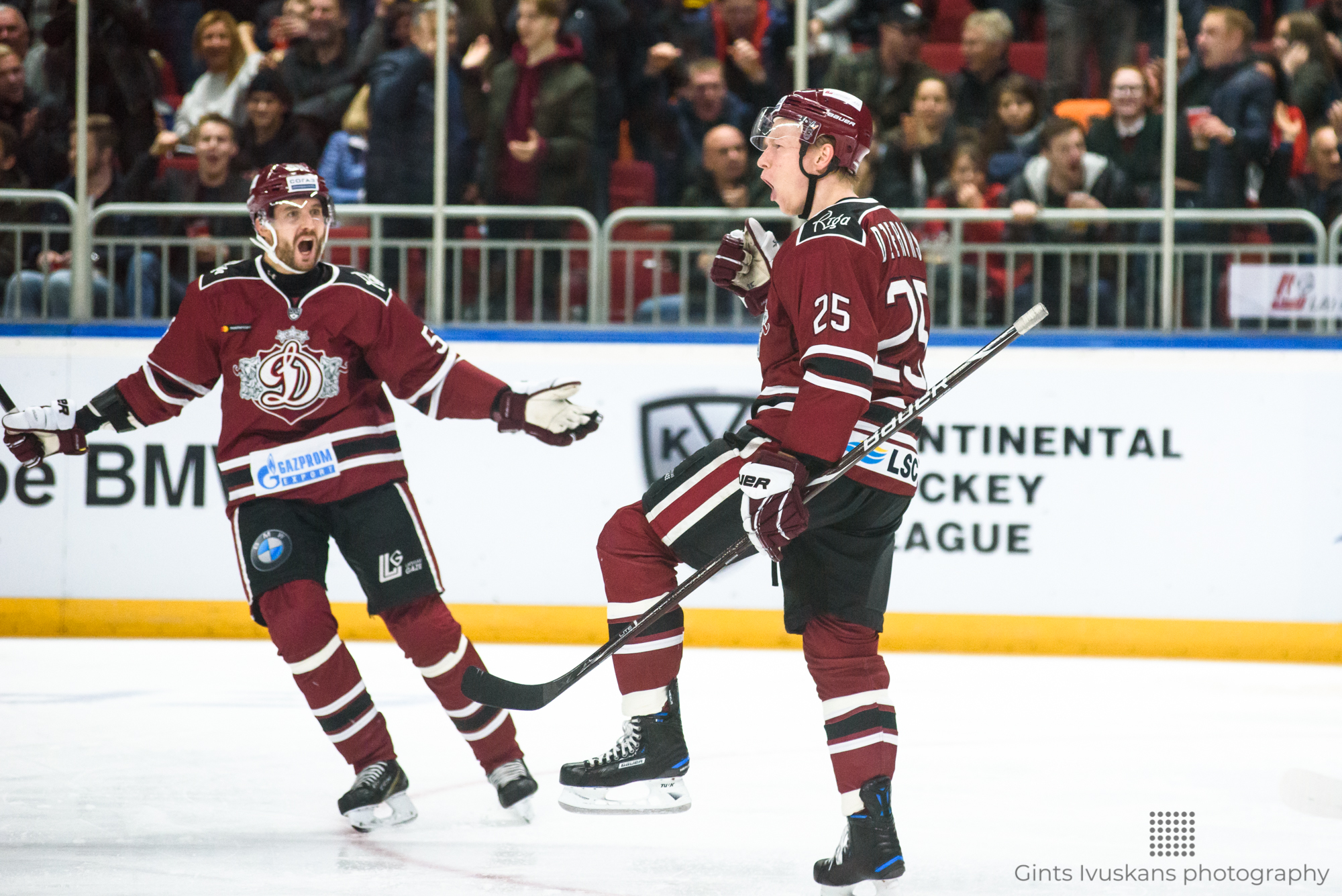 26.10.2018. RIGA, LATVIA.  Kontinental Hockey League (KHL) 2018/2019 season game Dinamo Riga vs. SKA Saint Petersburg.