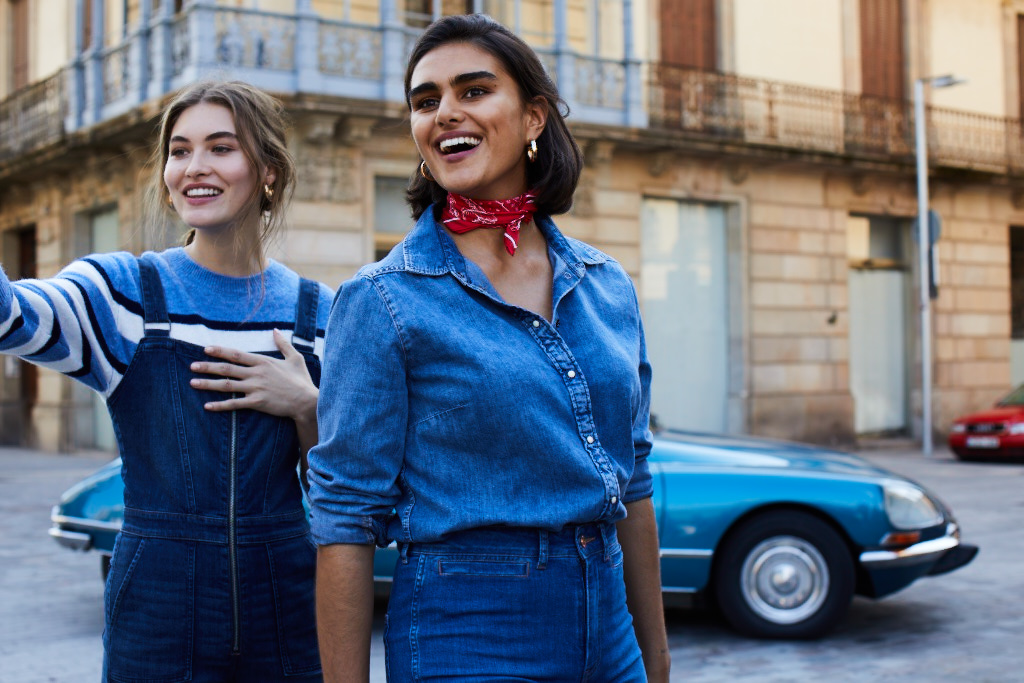 DENIM DAYS – WOMAN - Part of the H&M Denim SS19 campaign.