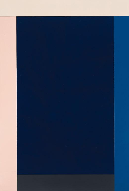Imi Knoebel Grace Kelly (V-3), 1990  Acrylic on wood  250,5 x 169,5 x 8,9 cm