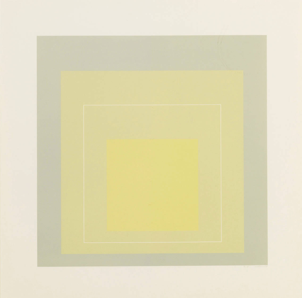 Josef Albers  WLS VII,1966
