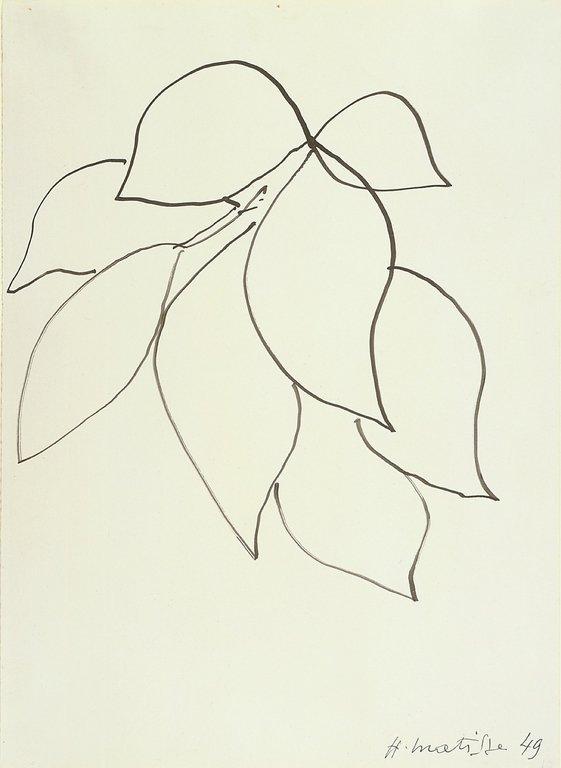 Henri Matisse  1949