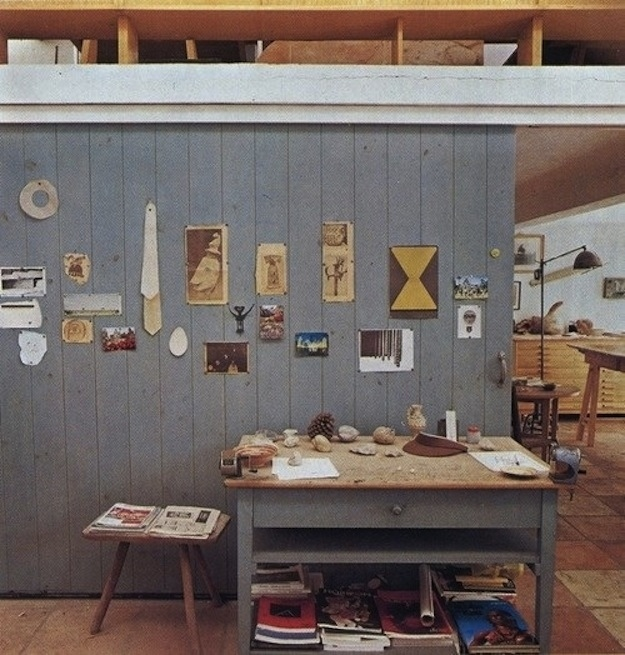 francyschenier :     Atelier de Joan Miro