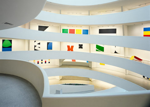 Ellsworth Kelly - Guggenheim Museum