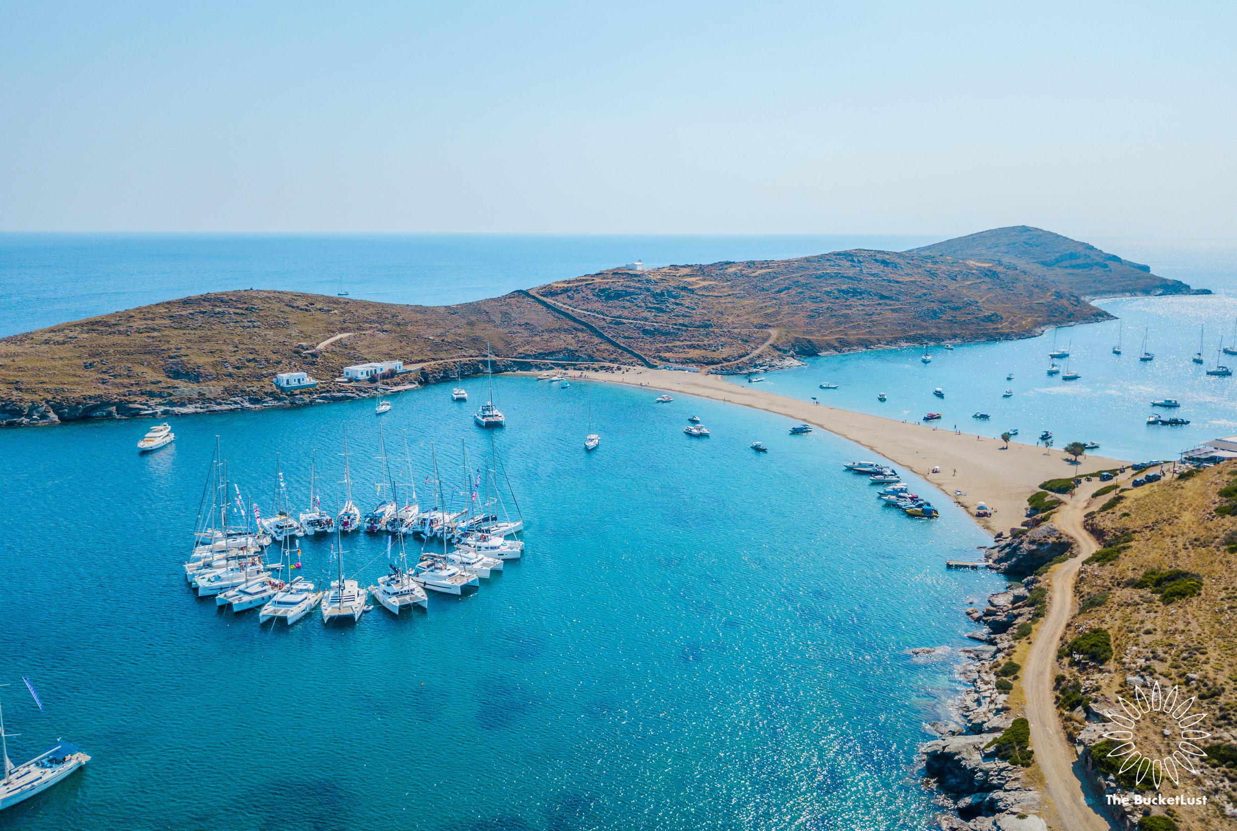 Circle Raft, Greece - The Mykonos Route