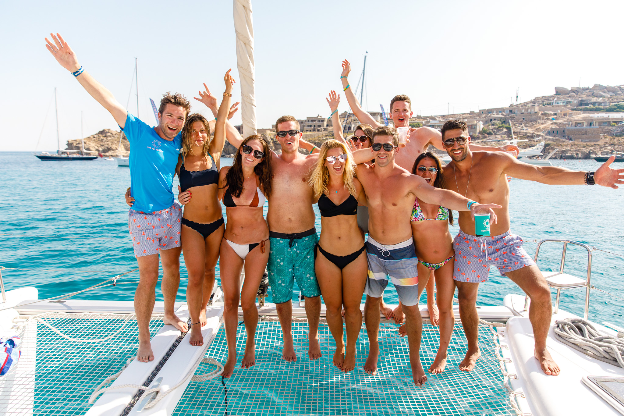 Skipper 'Too-tight' & crew - The Mykonos Route