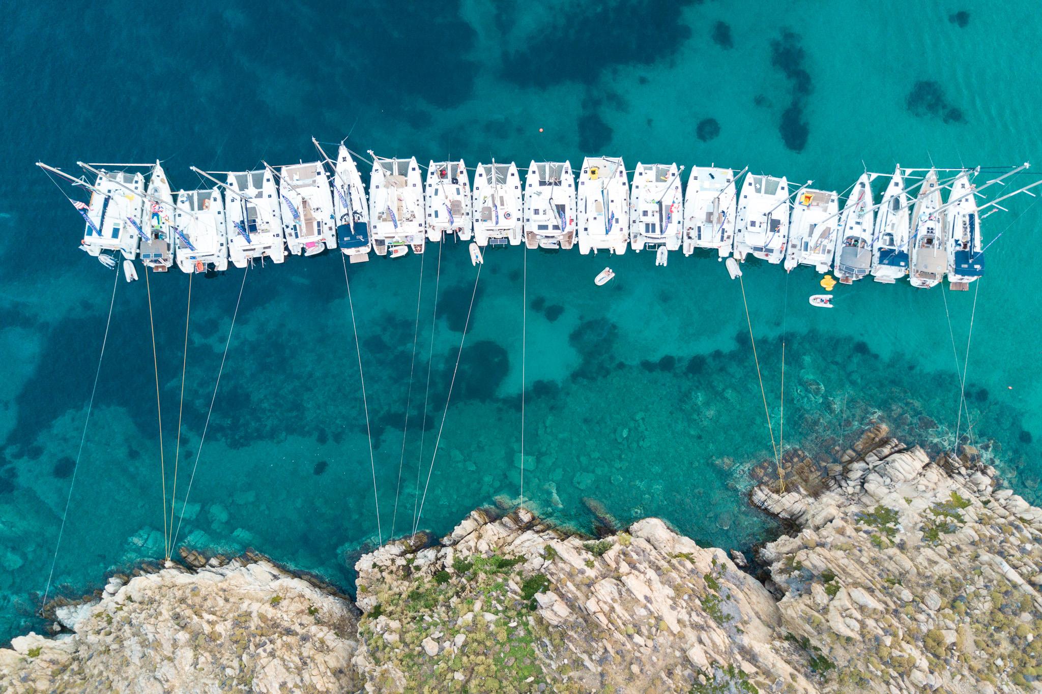 Line Raft in Mykonos, Greece - The Mykonos Route