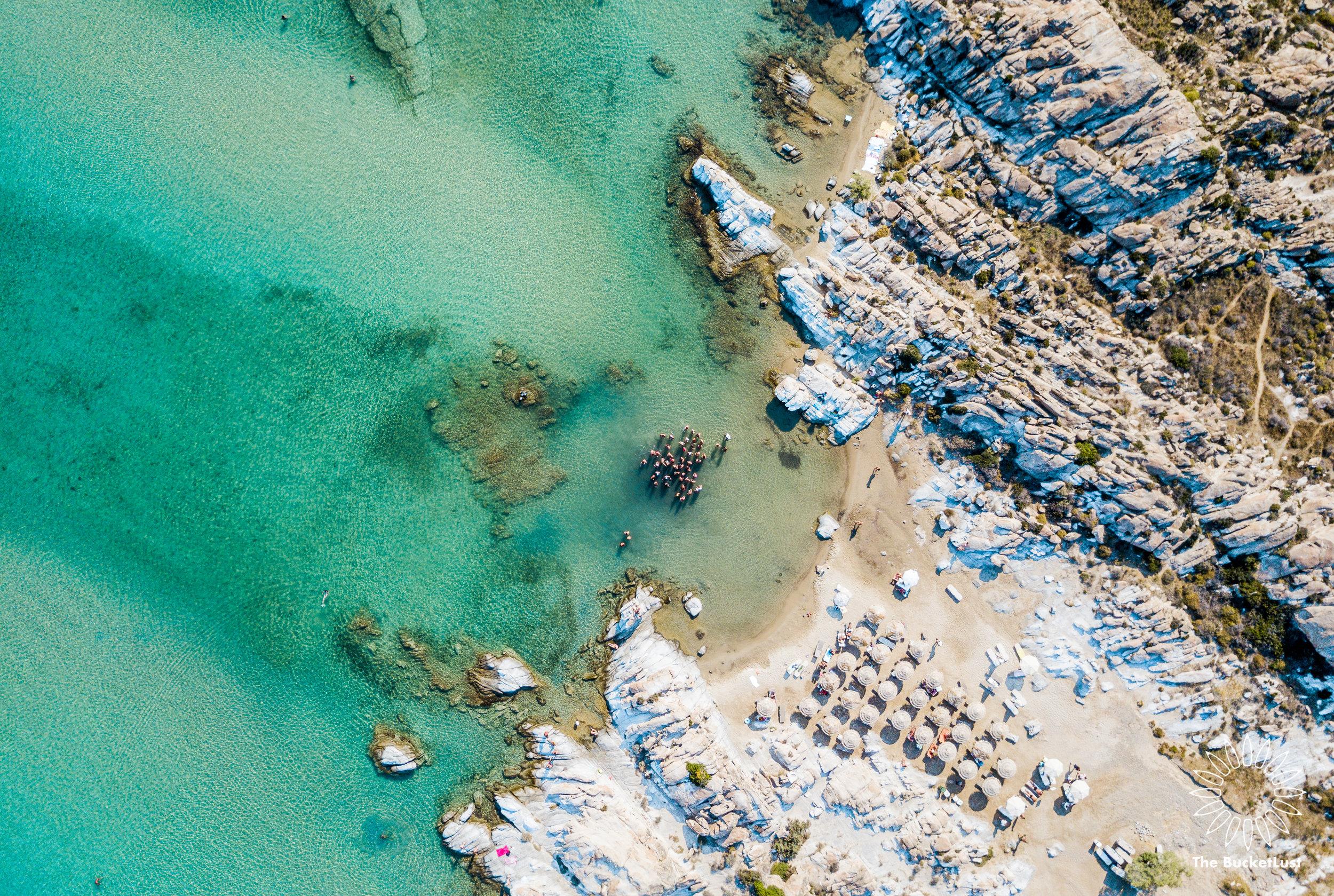 UE Beach Party, Paros, Greece - The Mykonos Route
