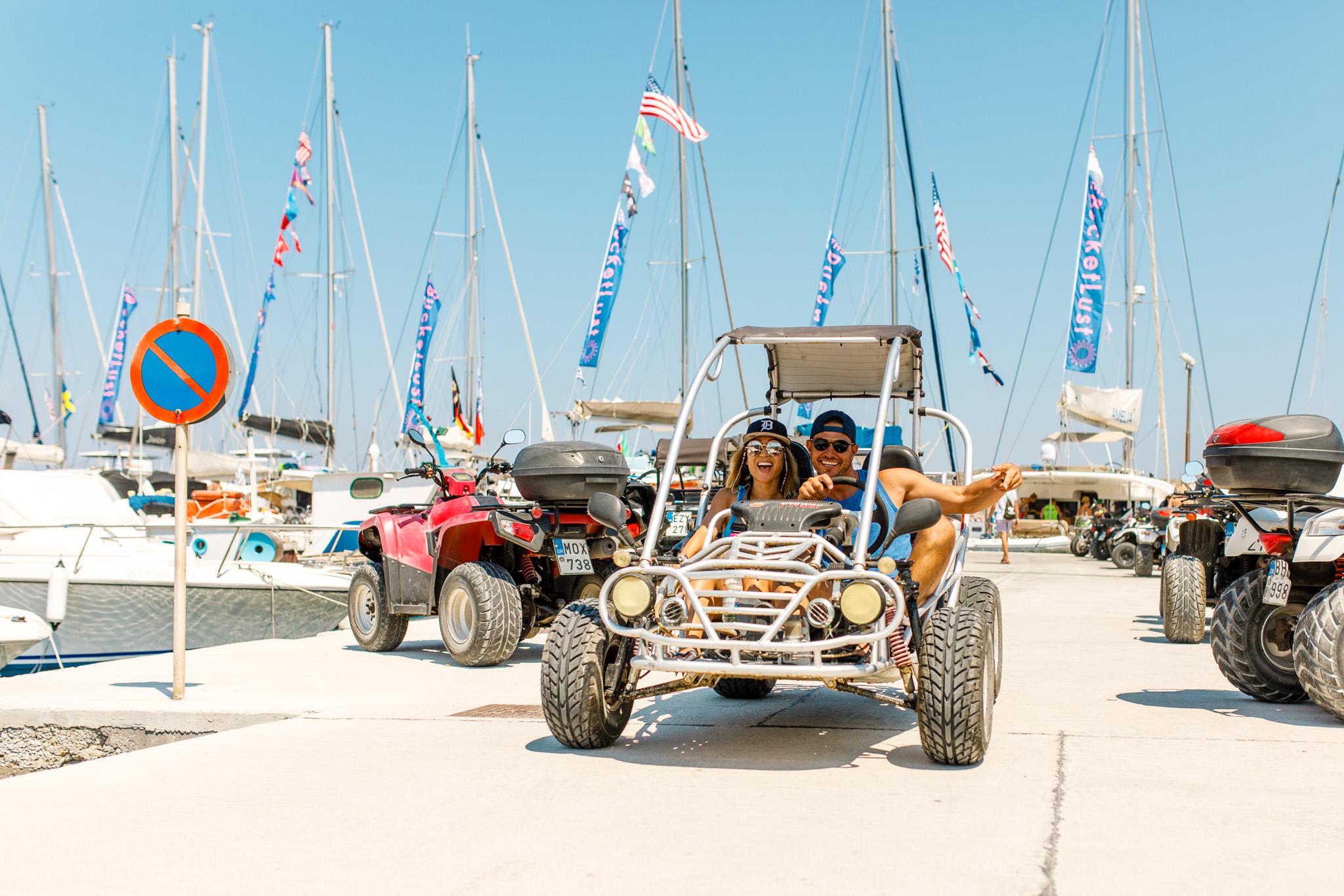 Yachts, ATVs & unicorns - The Mykonos Route