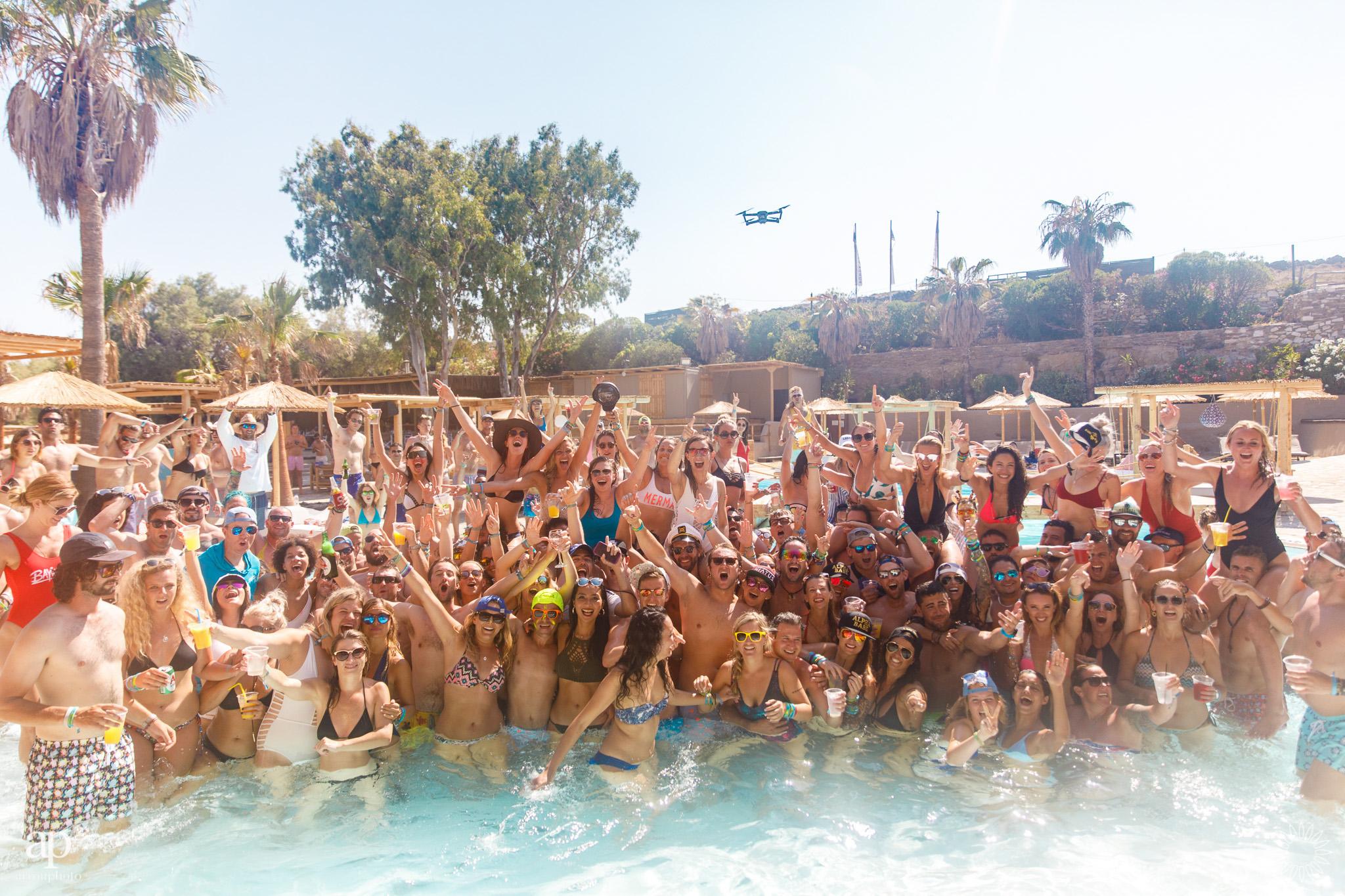 Punda Coast Pool Party - The Mykonos Route