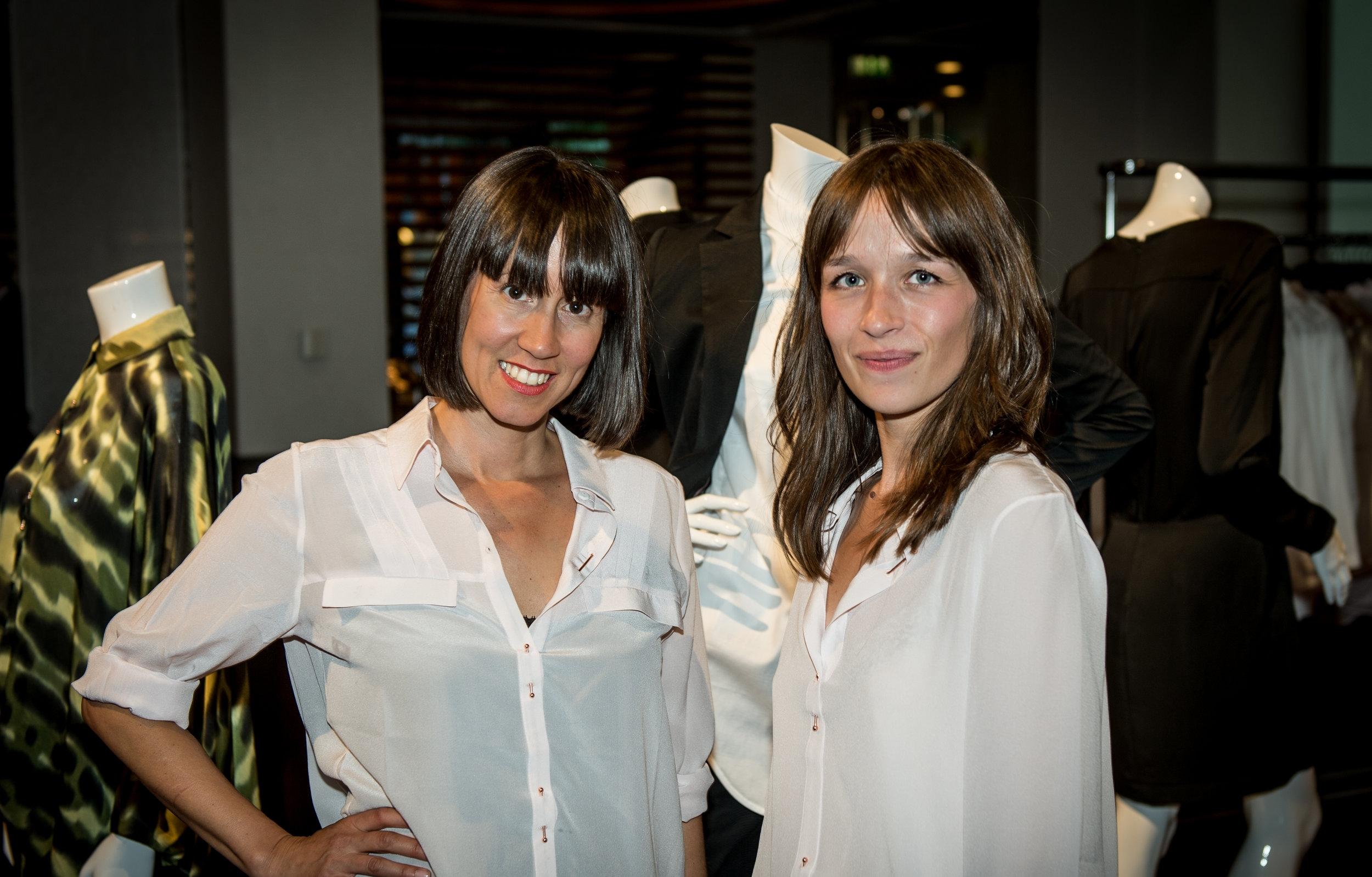 Christine Pluess and Livia Ximénez-Carrillo ©KOWA-Berlin