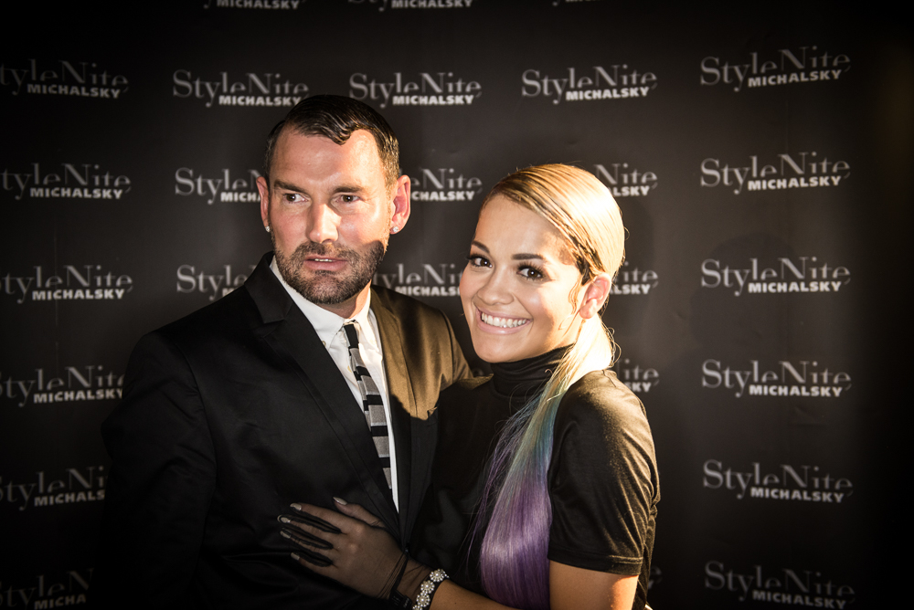 Michalsky and Rita Ora at the StylNite  ©  Michalsky