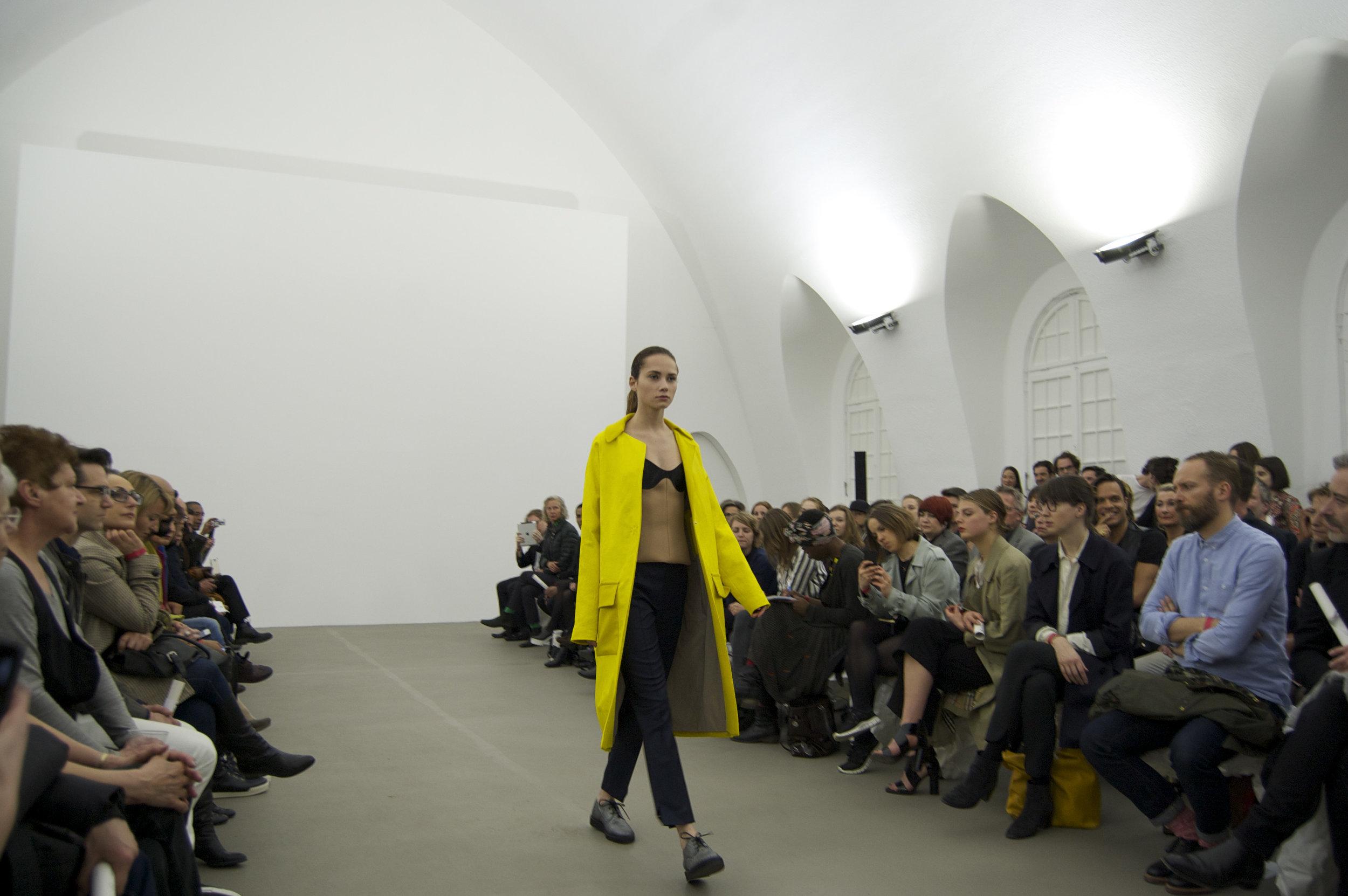 Bobby Kolade's womenswear show April 2014  © Maxie Spencer