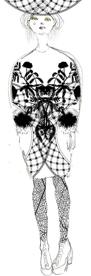 Skizze von Steinrohner
