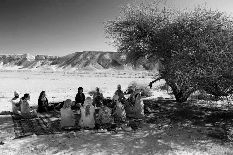 פגישת בוגרי הקורסים - לב המדבר// צוקים