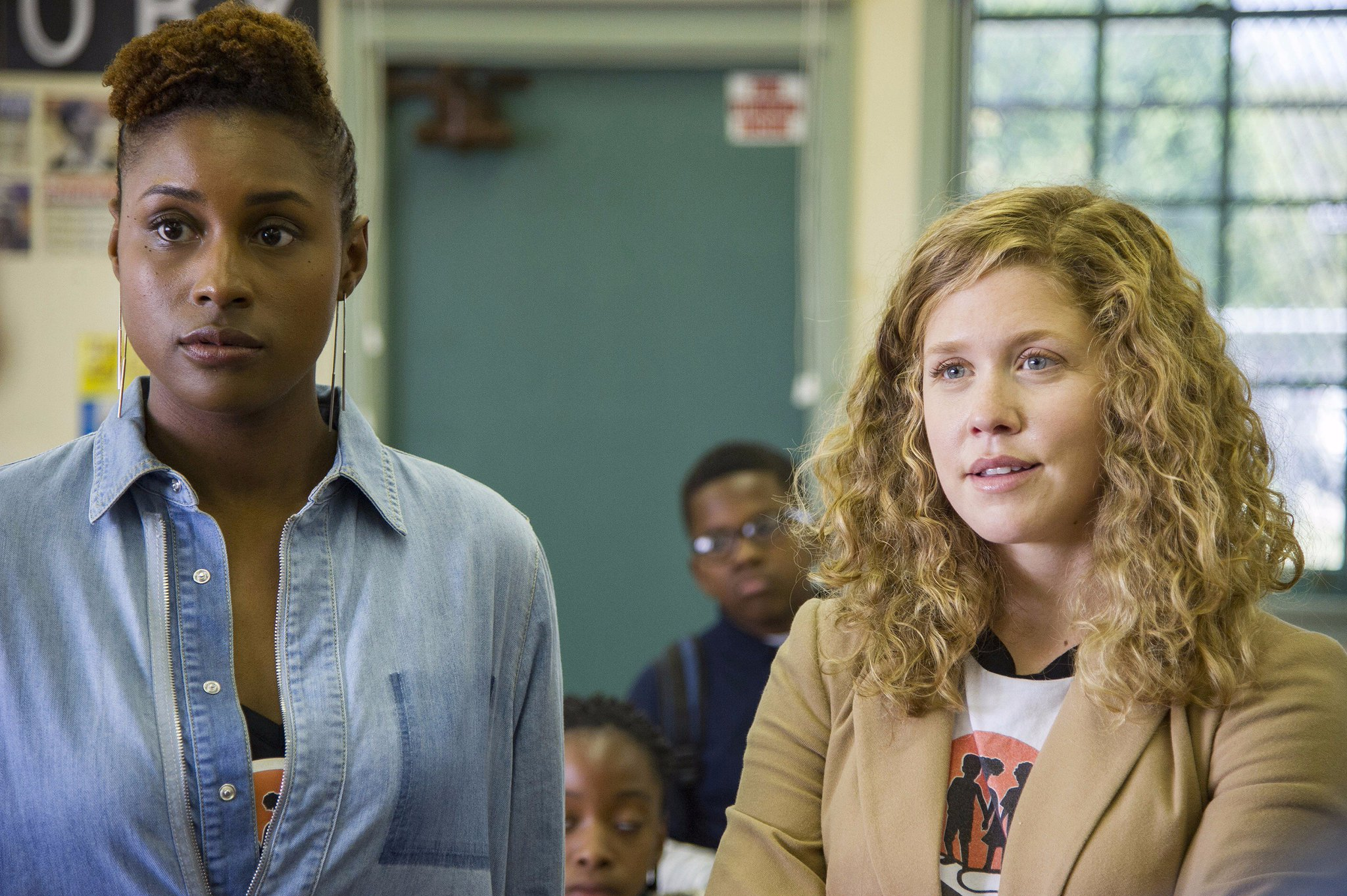 Lisa Joyce & Issa Rae in the HBO series  Insecure