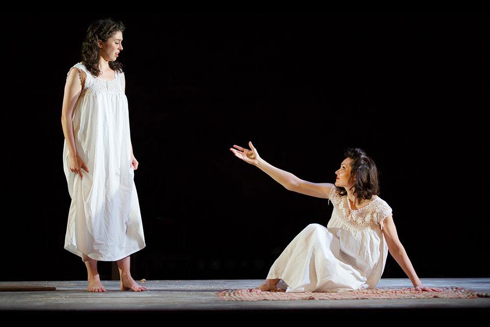 Adina Verson  &  Katrina Lenk  in  Indecent