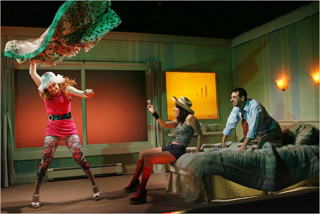 """Sheila Callahan's """"That Pretty Pretty; or, The Rape Play"""" at Rattlestick, directed by Kip Fagan"""