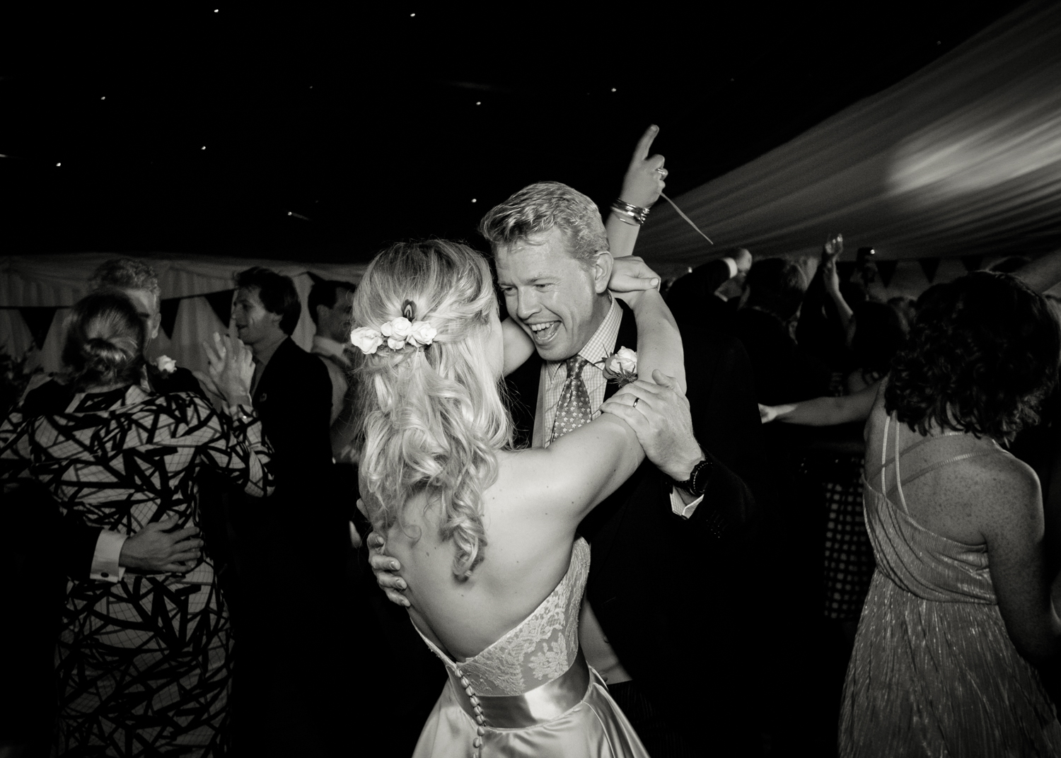 Wedding Photographer Rupert Marlow photograph of 1st dance