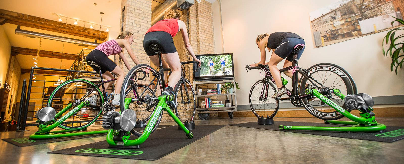 Kinetic - Indoor Bike Trainers, Interactive Smart Trainers