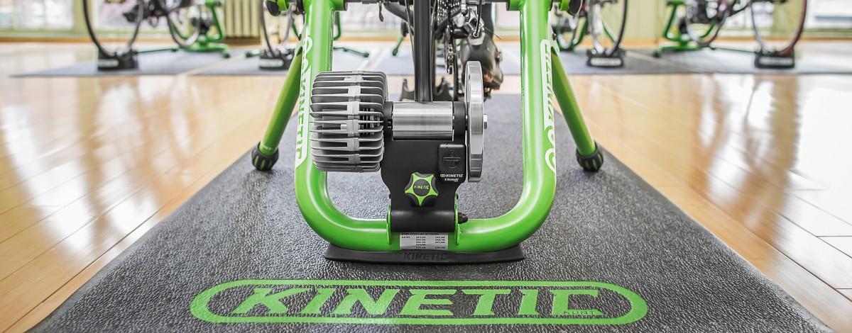 Kinetic Fluid Trainer Road Machine Smart with InRide Sensor