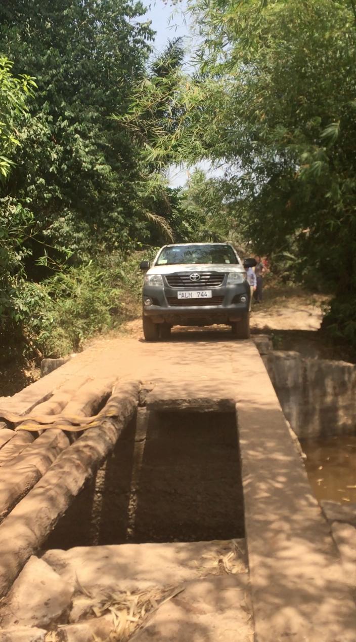 Trying to reach Manungu Village