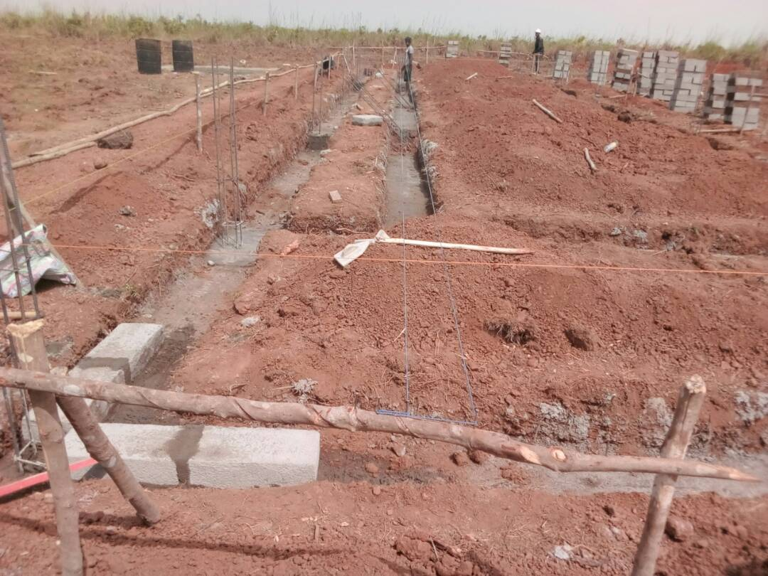 The foundation stone was laid for the new SHF school in Robombeh, Sierra Leone on 31 December.