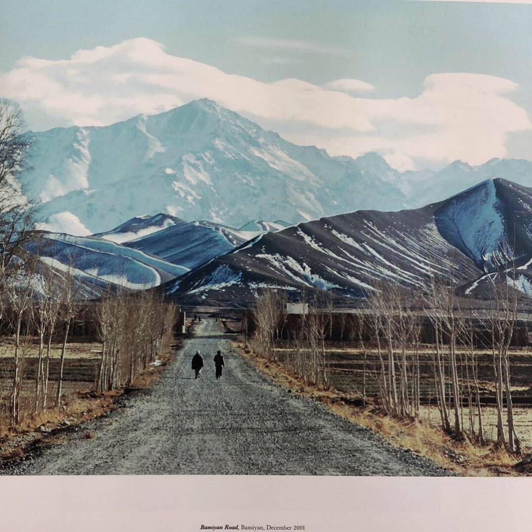 Bamiyan Road, Bamiyan, December 2001 , by Luke Powell