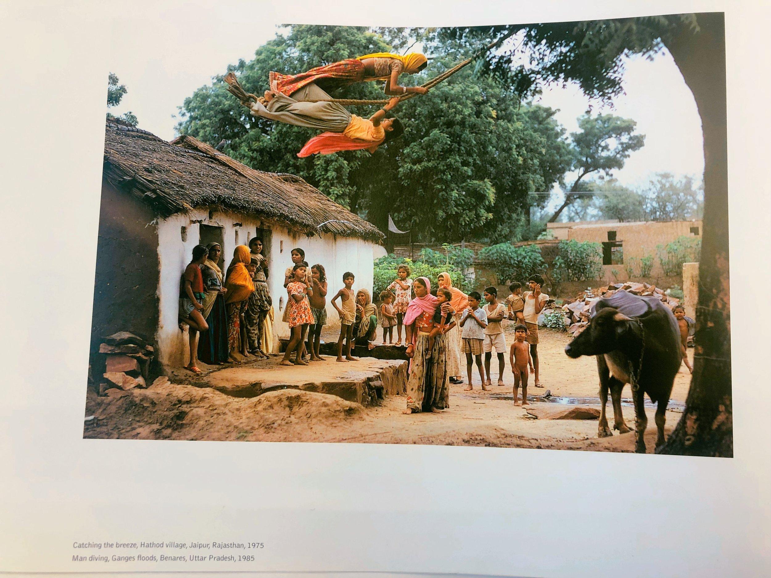 Catching the Breeze, Hathod Village, Jaipur, Rajasthan, 1975 , by Raghubir Singh