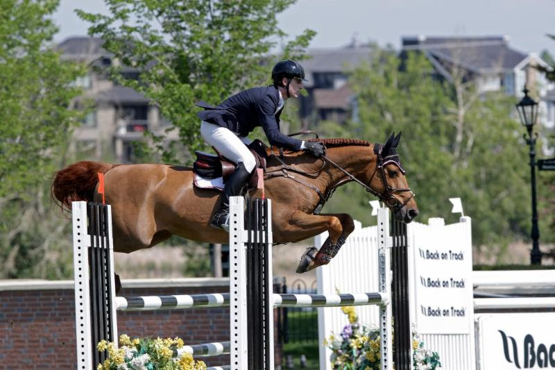 Peter Lutz and Camillo VDL. Photo: Douglas Sinclair/CanSport