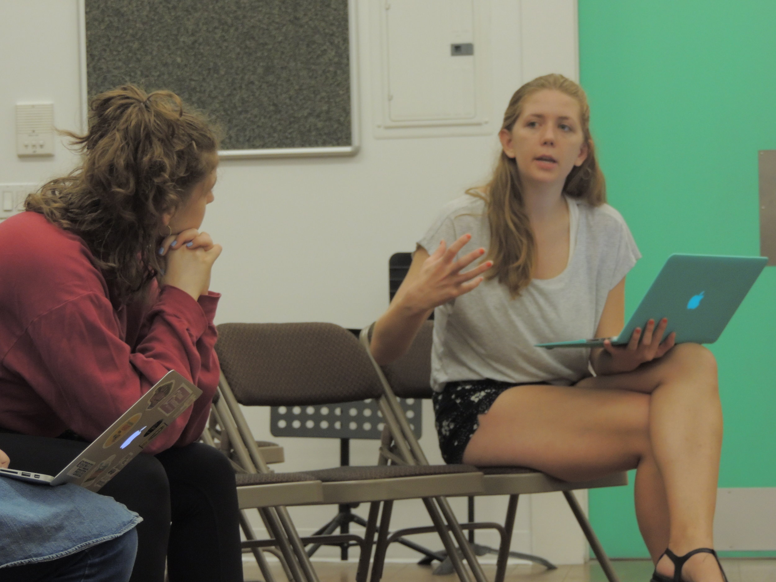 Rachael discusses  You Have To Promise  with actor Steph Seiden