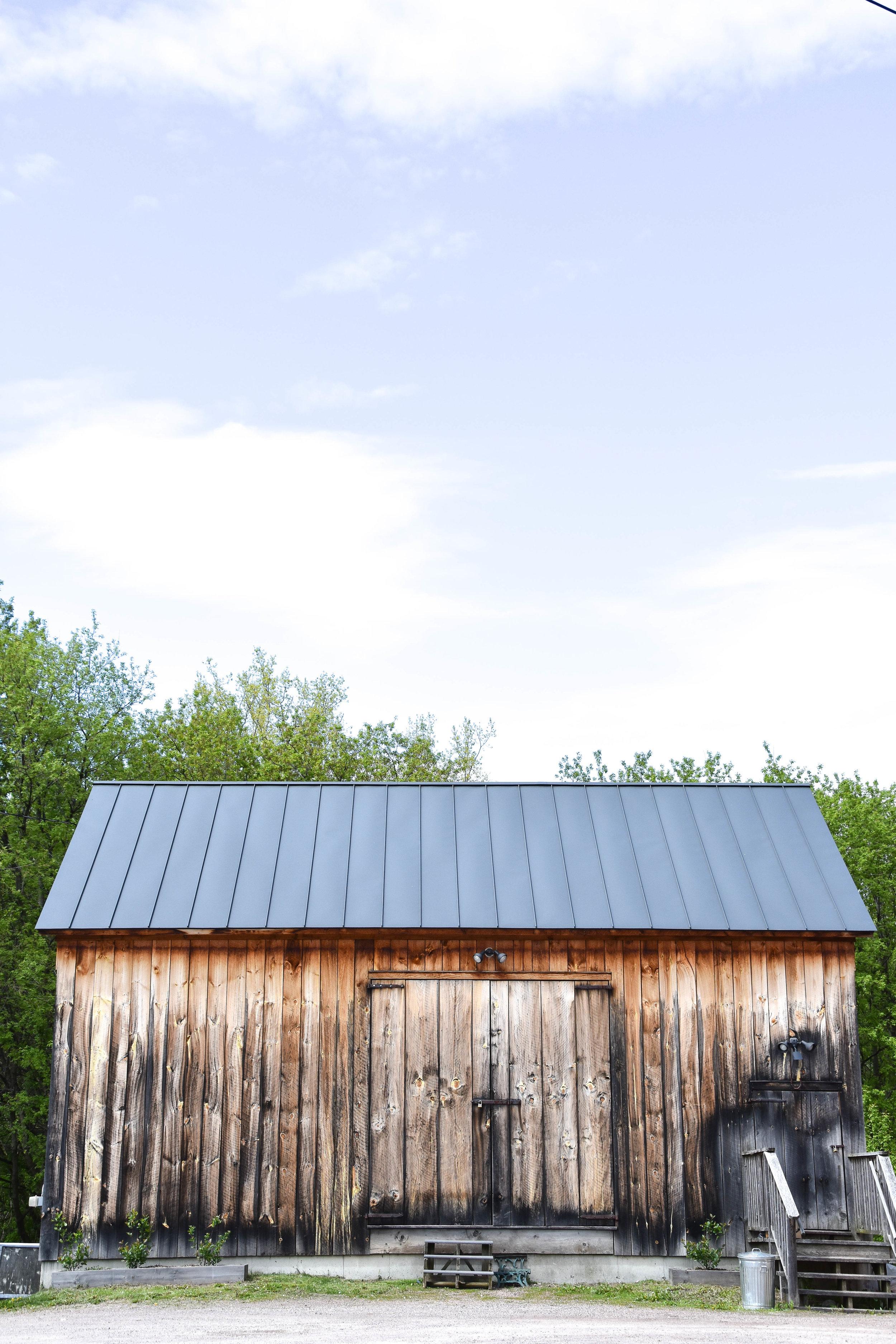 English Hay Barn