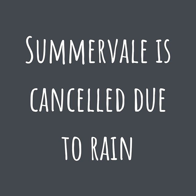 UPDATE! Tonight's Summervale event has been CANCELLED due to hazardous weather predicted tonight. See you next Thursday!