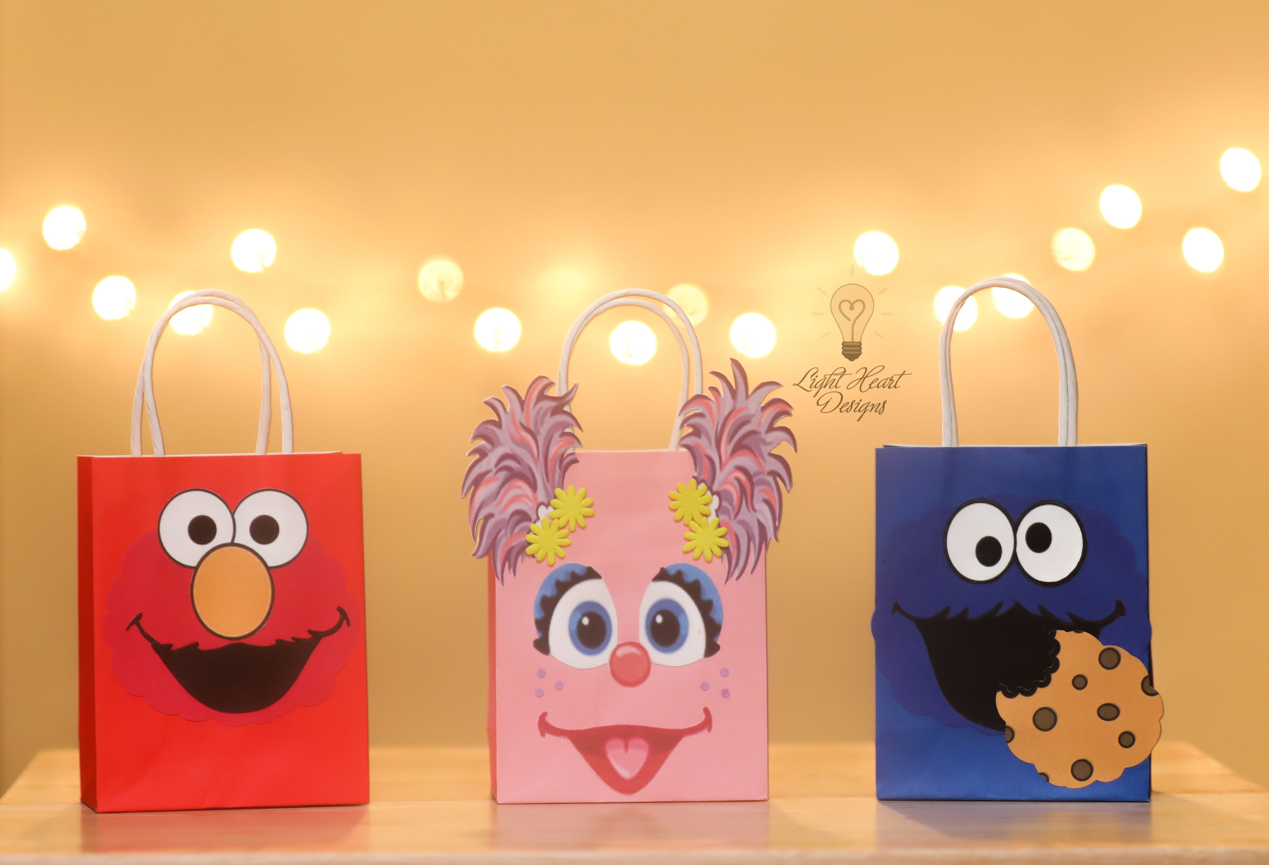 Sesame Street Party Favor Bags $2.99 ea