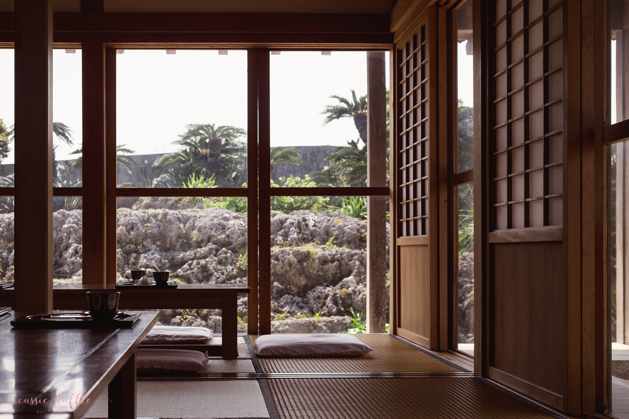 A Traditional Japanese Tea in Shurijo Castle