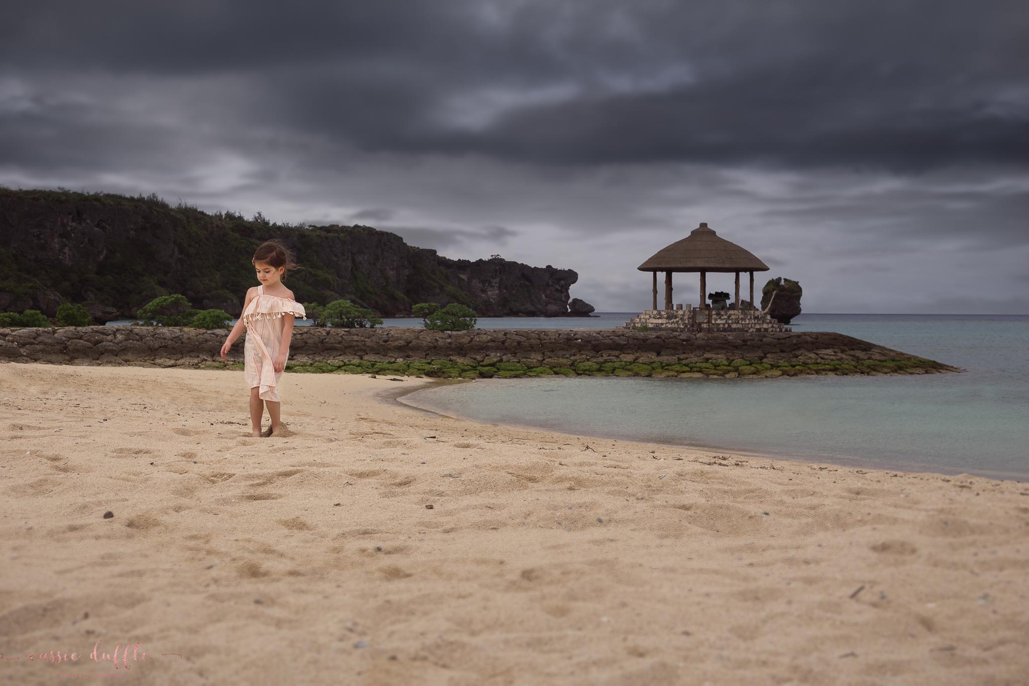 Nabi Beach in Okinawa, Japan