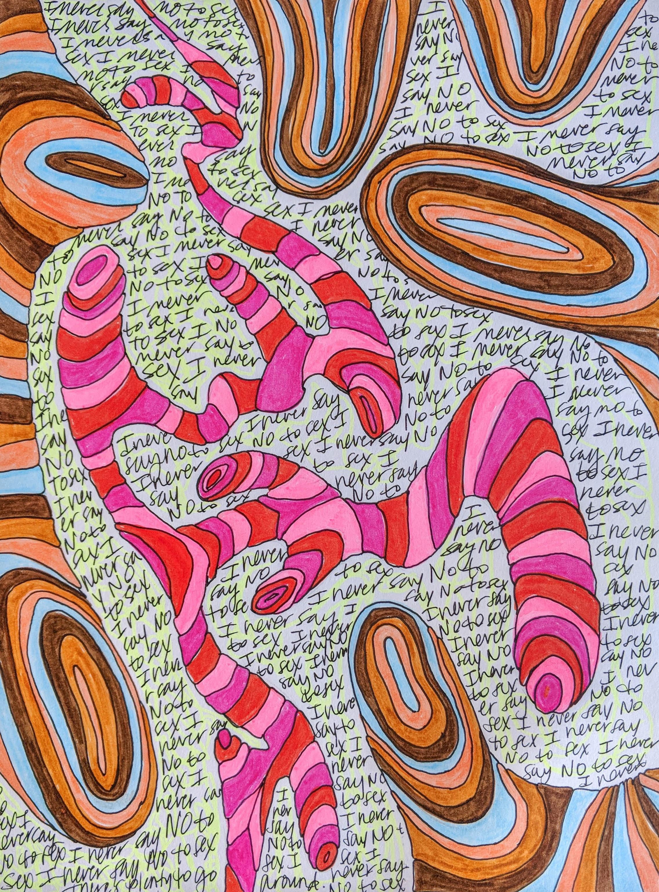 Artwork by  Meredith Elzea