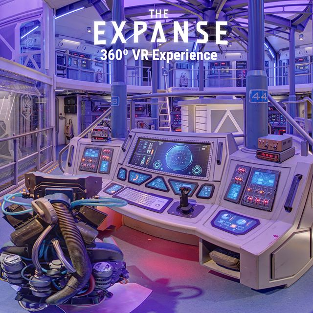 Did you love this season of the Expanse  and want more? Now you can feel like your on board the Agatha King in our 360º VR Experience! Take a look at it here: liberty360.ca/Expanse/mobile.html 🚀 - - - - - -  #vr #360 #virtualreality #VRmedia #tech #canon #immersive #liberty360 #theexpanse #photo360 #explorein360 #syfy #amazonprime #samsungvr #googlecardboard #agathaking #expanse #scifi #space #ship