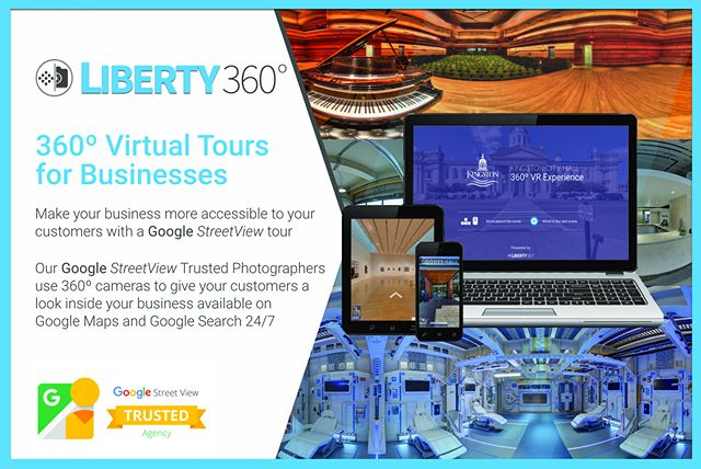 360º Virtual Tours are the best way to build trust with your customers who are looking for your business online. Liberty360º is a StreetView Trusted agency -- meaning we can get your business online with beautiful 360º photos.  Immersive, virtual experiences inspire greater confidence among prospective guests and patrons. Contact Us for a free consultation for your business -- we service all of Ontario.  #360 #VR #Liberty360 #Google #StreetView #GoogleStreetView #StreetViewTrusted #StreetViewPhotographer #360Business #VirtualTour #VirtualBusiness #OttawaBusiness #Ottawa #Kingston #Toronto #GTA #Ontario