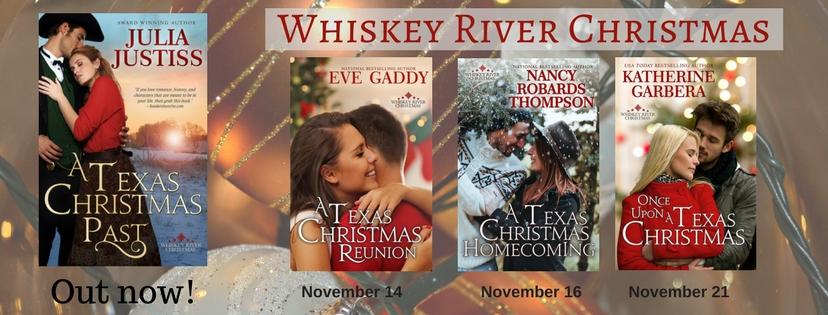 whiskey river christmas series western romance