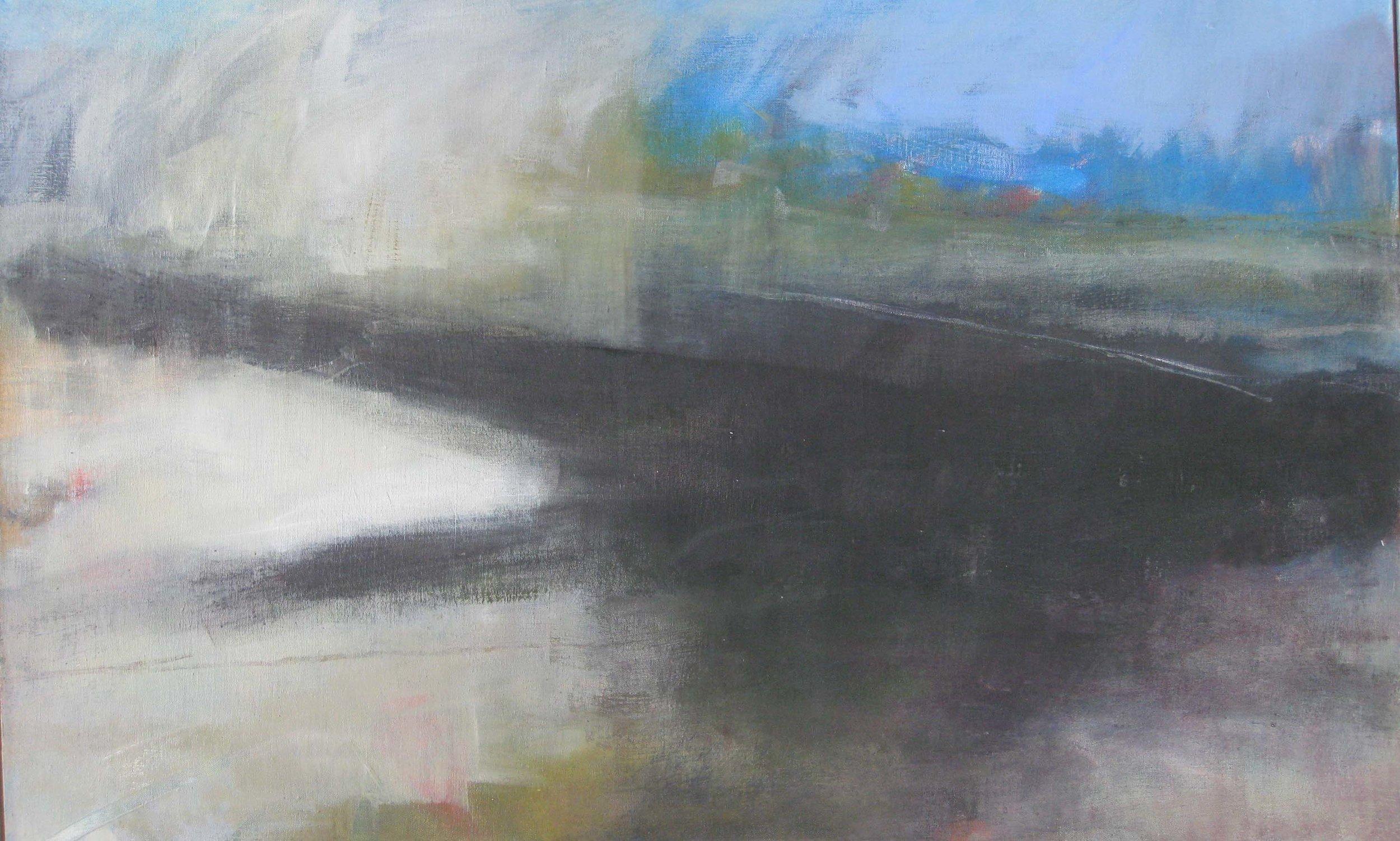 Black Moor • Oil on linen on Board • POA