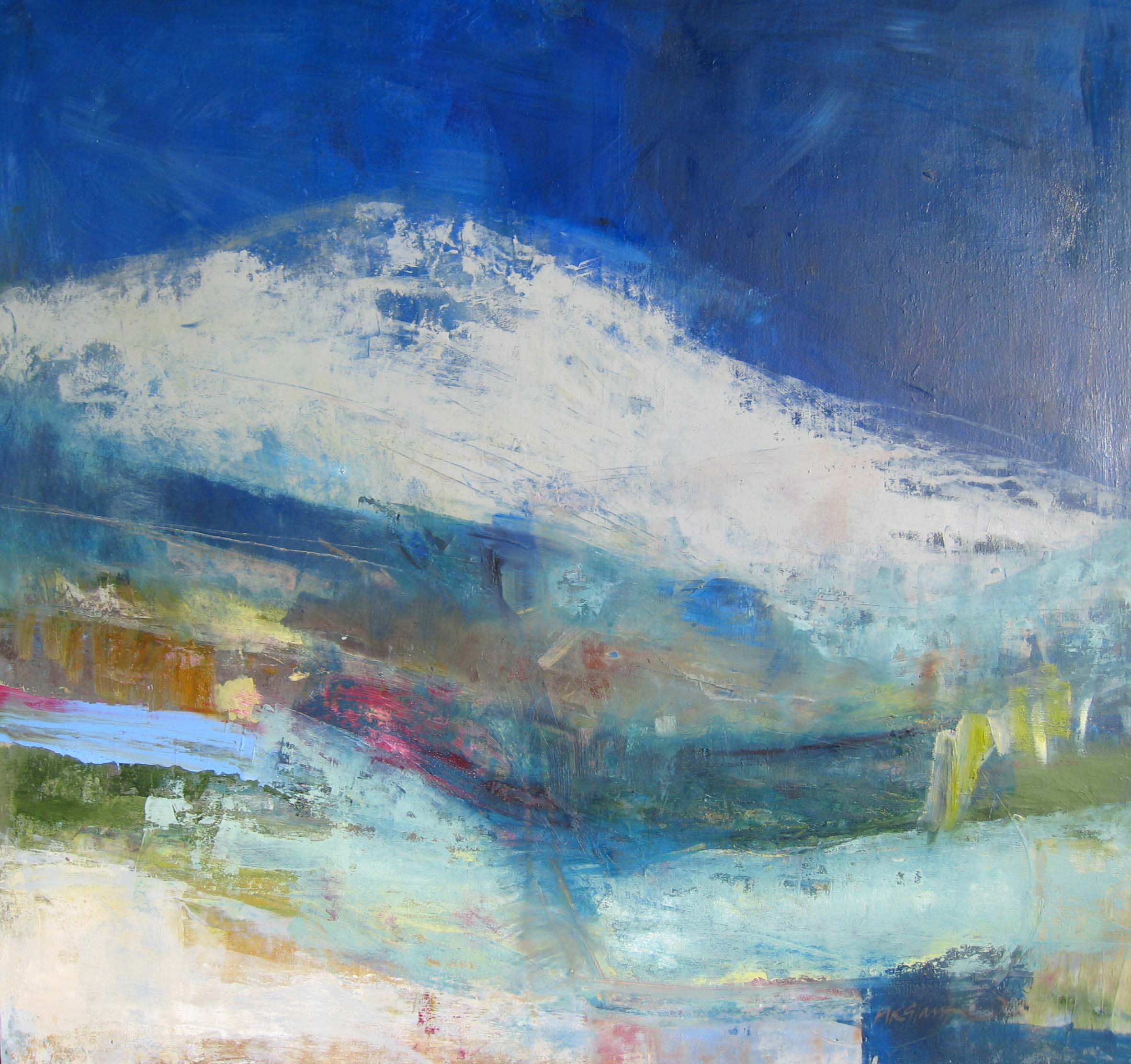 January landscape • Sold