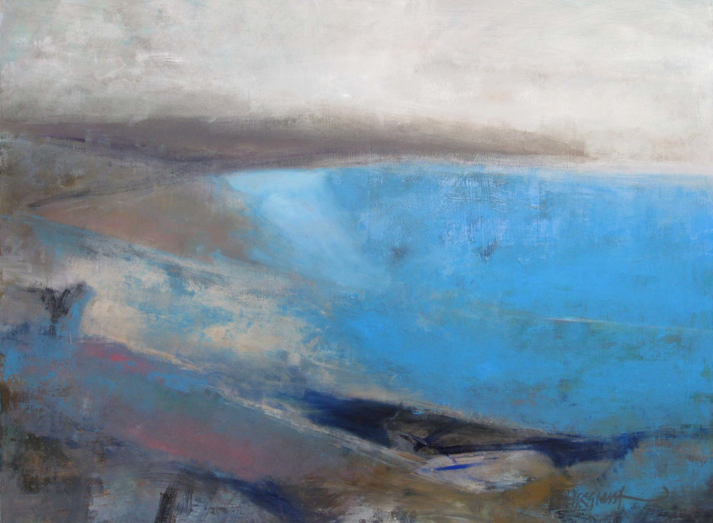 North Sea Blues • Sold