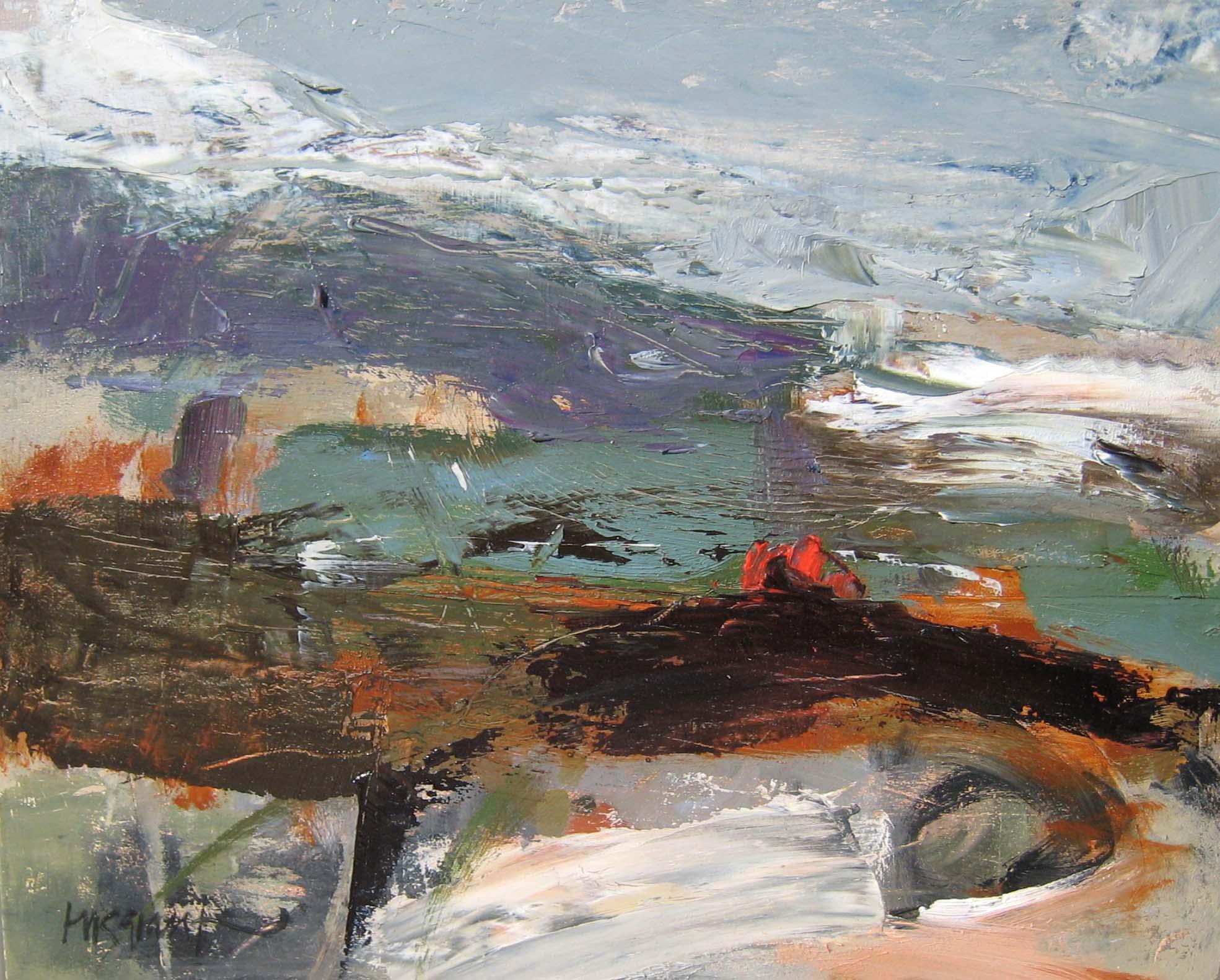 Tussocks and Peat Bog series • Sold