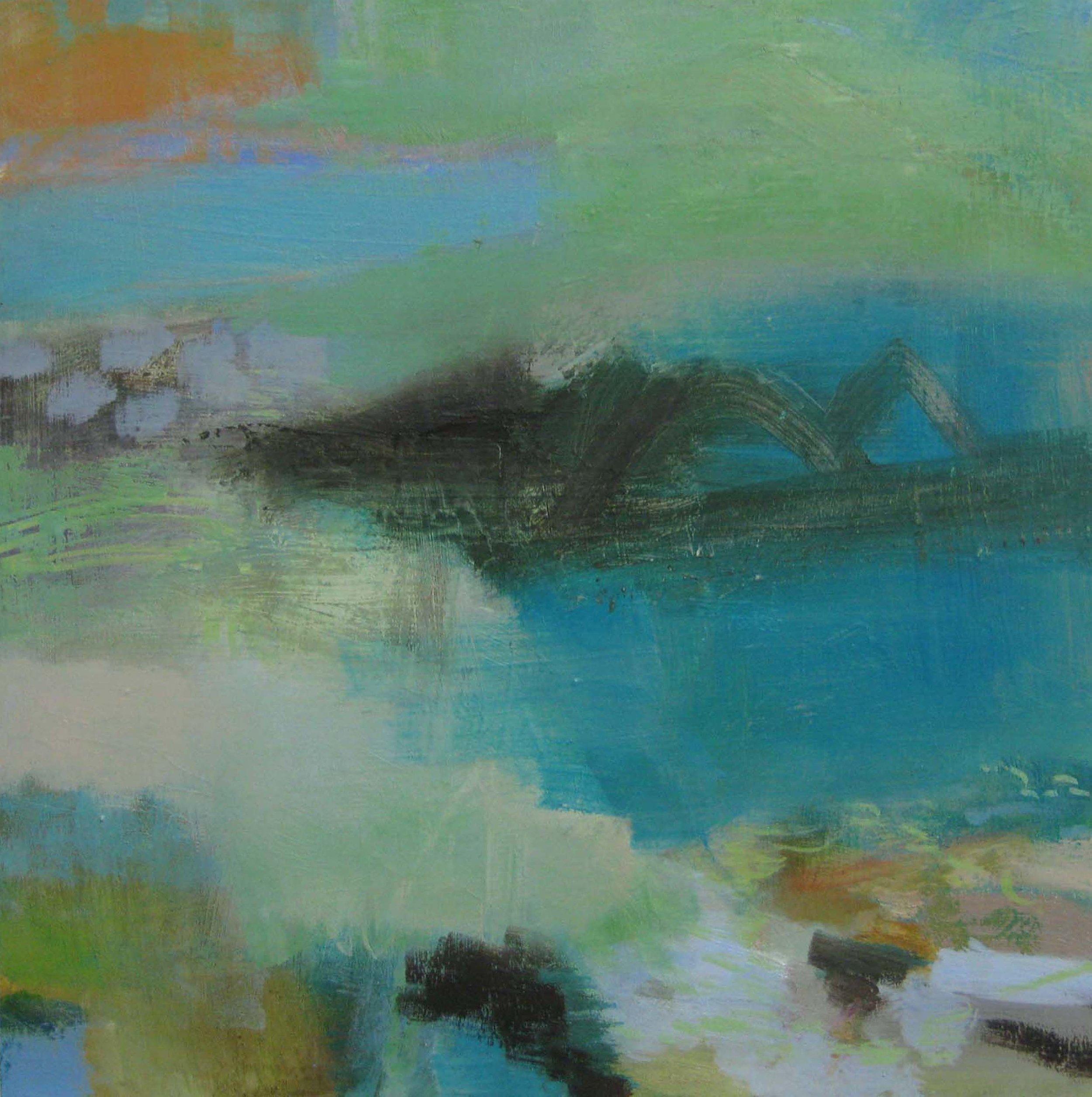 Spring Beach Fragment • Sold