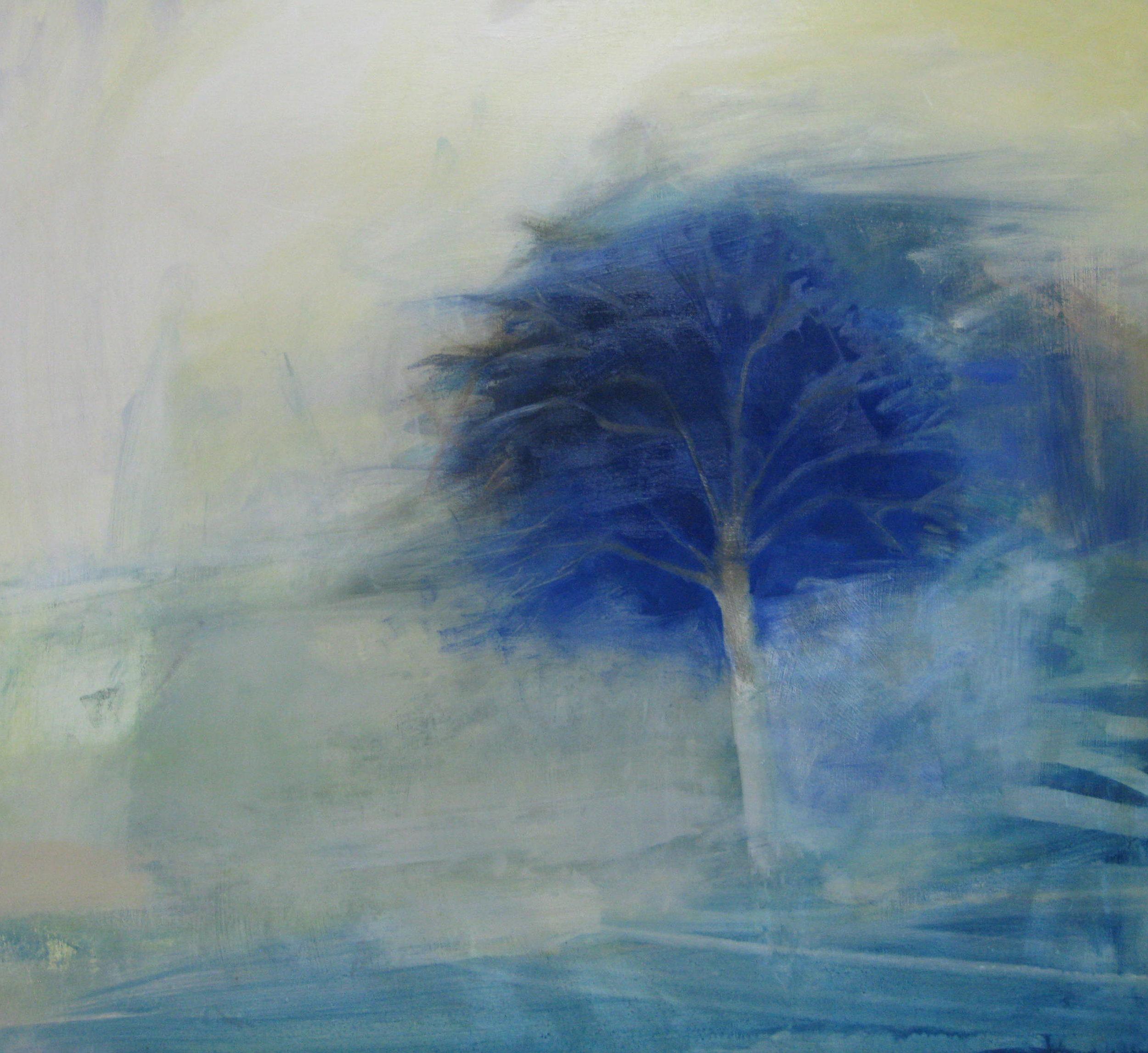 Blue Tree • Oil on Board •POA