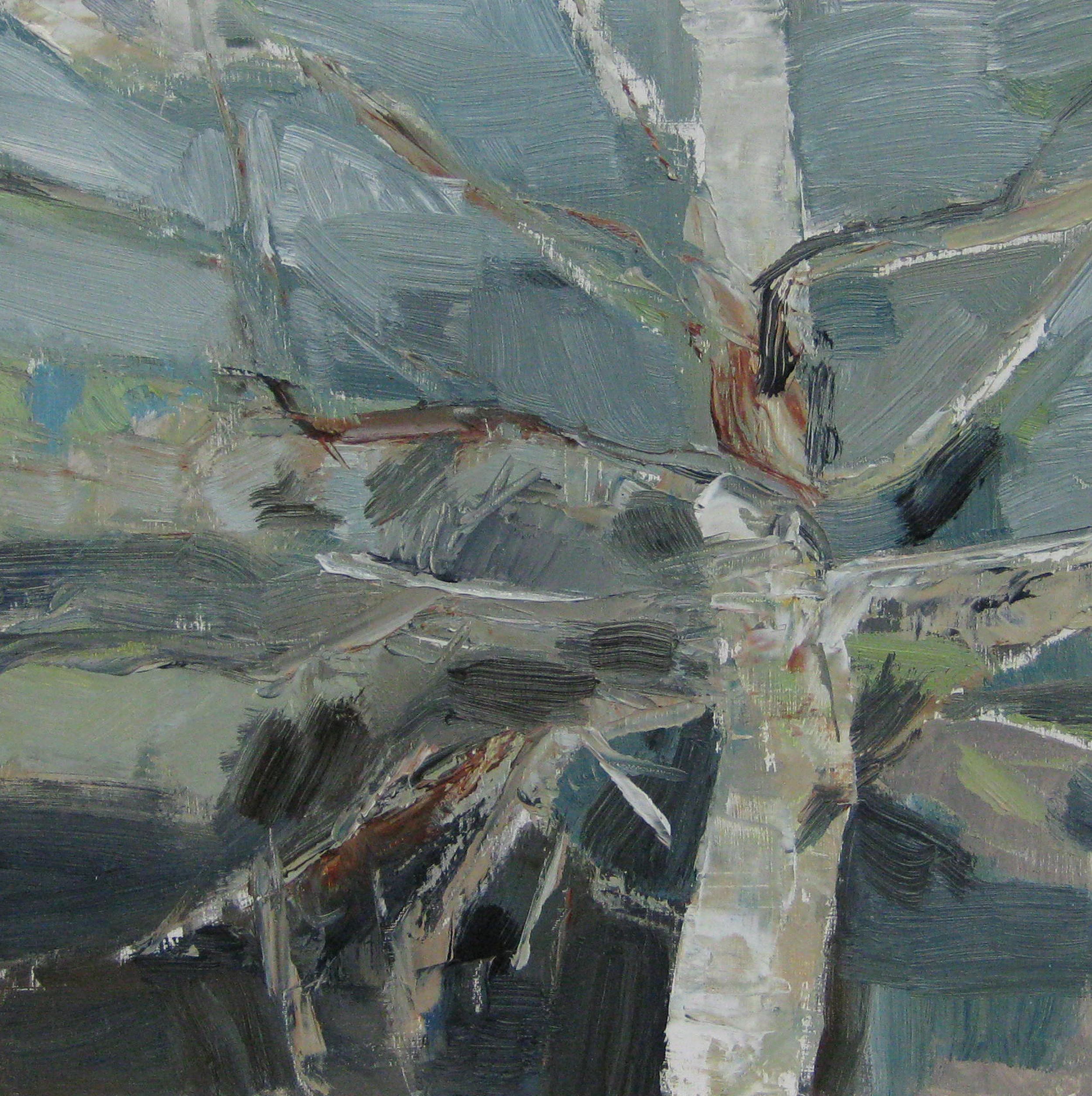 Winter Birch • Sold