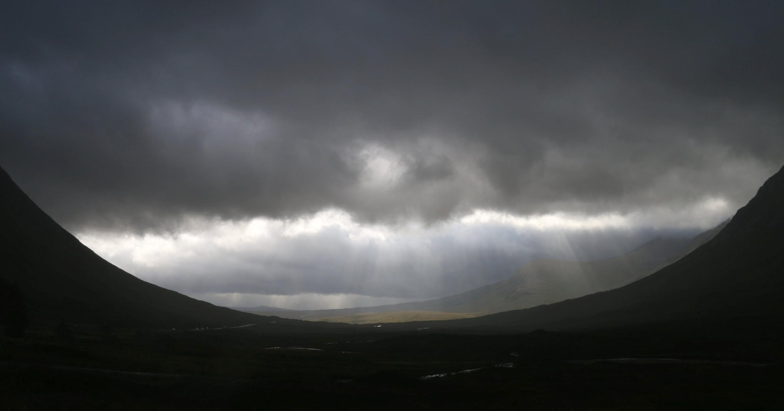 Looking Towards Rannoch Moor from Glen Coe